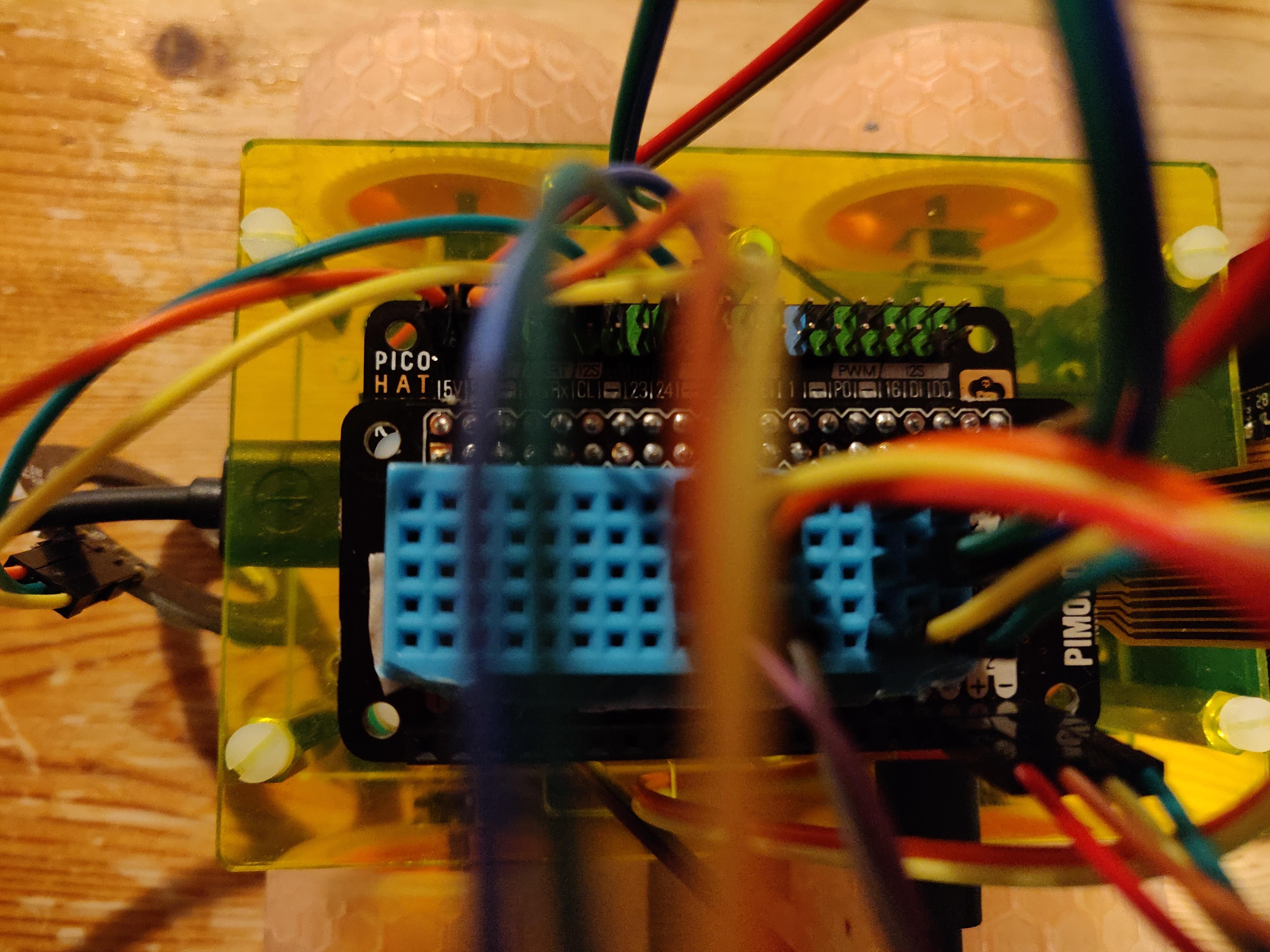 Pi Wars Practice Robot Progress